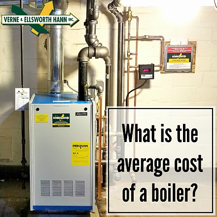 What is the average cost of a boiler? | VEH Brothers